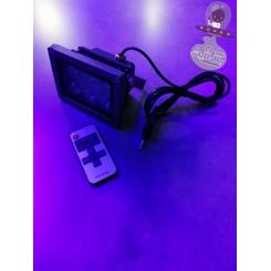 پروژکتور بلک لایت ریموت دار 6وات مدل PR1