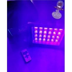 پروژکتور بلک لایت ریموت دار 24وات مدل PR2