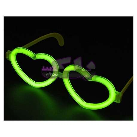 عینک نورانی طرح قلب Glowsticks